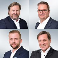 JCL Gruppe mit neuem Führungs-Quartett
