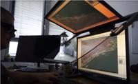 VR PluraView Monitor in der Anwendung mit Softwise Cadmium