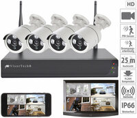 VisorTech Funk-Überwachungssystem DSC-750.app
