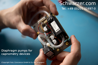 Diaphragm pumps from Schwarzer: medical technology that saves lives