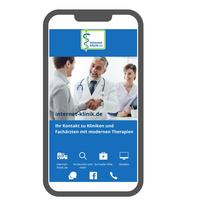 """Neu: """"internet-klinik Arztsuche"""" - App - Jetzt den richtigen Arzt für moderne ambulante Therapie finden"""