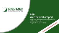 B2B Wettbewerbsreport: Kreutzer Consulting lanciert neues Informationsangebot für die Energiebranche