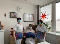 Nervennahrung für das Klinikpersonal