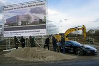 Baustart für das neue Porsche Zentrum Dinslaken