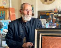 Gratulation dem Künstler Giovanni Vetere zum 80. Geburtstag