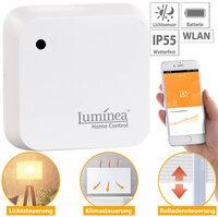 Luminea Home Control Wetterfester WLAN-Licht-Sensor