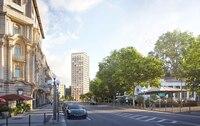Einzigartiges Landmark-Projekt: Erfolgreicher Vermarktungsstart für Wohnturm KURECK in Wiesbaden