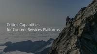 M-Files schneidet im Critical Capabilities Report for Content Services Platforms 2020 von Gartner hervorragend ab