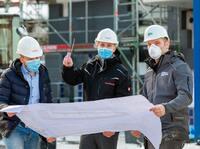 Corona zum Trotz: Alle Bauprojekte ohne Verzug