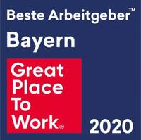 """Auszeichnung """"Bayerns Beste Arbeitgeber 2020"""" für Dittmeier"""