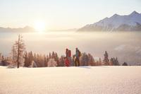 Sicher Winterwandern - Verbraucherfrage der Woche der ERGO Versicherung