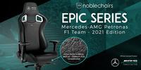 Neu bei Caseking: Der noblechairs EPIC in der offiziellen Mercedes-AMG Petronas Formula One Team - 2021 Edition