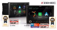 Geräte des Jahres - ZENECs Infotainer Z-E3766 und Z-N966