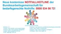 BAGbN startet mit kostenloser Notfallhotline