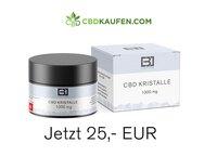 CBD-Kristalle kaufen um Kosmetik herzustellen