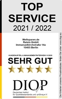Top Service: Raisin GmbH erhält Servicesiegel vom DIQP