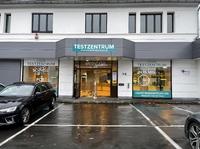 Corona-Testzentrum in Siegburg für Schnelltests und PCR-Tests gestartet