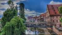 Die Nürnberger Altstadt ein Magnet für Einheimische und Touristen