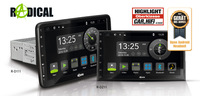 Geräte des Jahres - RADICALs Android Autoradios R-D111 und R-D211