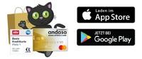 Deutschlands größtes Bonusprogramm Andasa launcht App