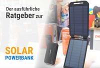 Nach dem Lockdown - mehr Reisefreiheit mit Solartasche oder Powerbank