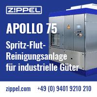 Zippel-Premium-industrielle Teilereinigung - mit Hochdruck oder Niederdruck. Neutraubling - Deutschland