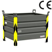 Kruizinga erhält CE-Zertifikat für hebbare Stapelbox