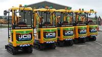 CP Hire erwirbt ersten JCB Elektro-Minibagger in Irland