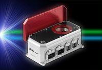Blaue, grüne und IR-Laser automatisiert messen