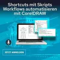 Grafik automatisieren - Einsteiger-Training mit CorelDRAW