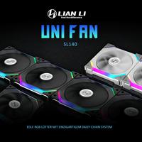 NEU: Lian Li UNI FAN SL140 Lüfter jetzt bei Caseking