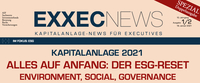 EXXECNEWS-SPEZIAL zu den Megatrends ESG, Real Assets Investment und Digitalisierung erschienen