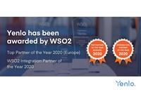 """Yenlo zum """"WSO2 Top Partner of the Year"""" gewählt - zum dritten Mal in Folge (Europa)"""