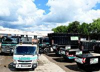 Entsorgung von großen Abfallmengen mit Containerdienst