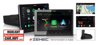 Großartiges Multimedia-Autoradio - ZENECs 1-DIN System Z-N965