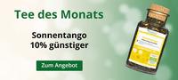 Mango und Erdbeere tanzen in der Tasse Tango - Monatstee im Februar