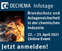 Infotage Brandschutz und Anlagensicherheit in der chemischen Industrie