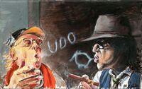2 neue Kunstwerke von Otto Waalkes mit Udo Lindenberg