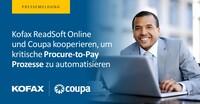 Kofax ReadSoft Online integriert Coupa - für die Automatisierung von Procure-to-Pay-Prozessen