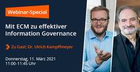Webinar-Special: Experten-Talk Information Governance
