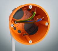 Elektroinstallationsdosen mit Dichtheitsklasse 6