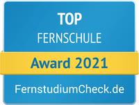 """Die Social Media Akademie ist """"TOP-Fernschule 2021"""""""