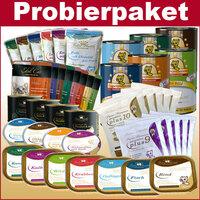 Großes Auswahl Probierpaket Katzenfutter stark reduziert