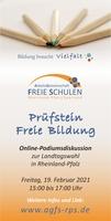 Polittalk zu Privatschulen in Rheinland-Pfalz.