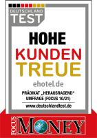 DEUTSCHLAND TEST: Hohe Kundentreue bei ehotel®