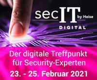 Consist Software Solutions auch in 2021 auf der secIT by Heise