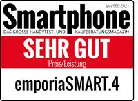 Preis-Leistungs-Sieger: emporiaSMART.4 mit SEHR GUT bewertet