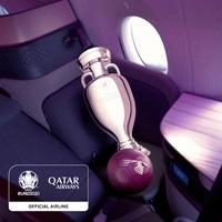 Qatar Airways ist offizieller Airline-Sponsor der UEFA EURO 2020™