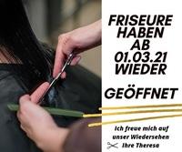 März 2021:  Friseursalons in Bayern dürfen wieder öffnen