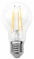 Luminea LED-Filament-Lampe mit Dämmerungssensor